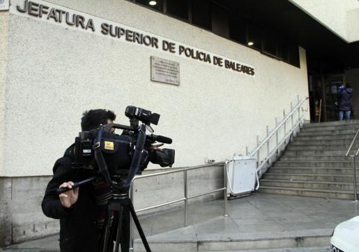 Imagen de la Jefatura Superior de la Policía Nacional en Baleares.