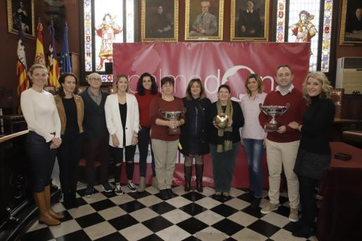 Imagen de la presentación de la Copa Princesa 2019 de voleibol, en Cort.