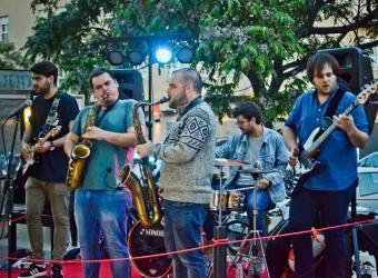 Concierto de acid funk jazz con Saxophobia Funk Project en el Blue Jazz Club
