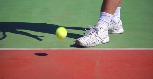 Imagen de un partido de tenis.