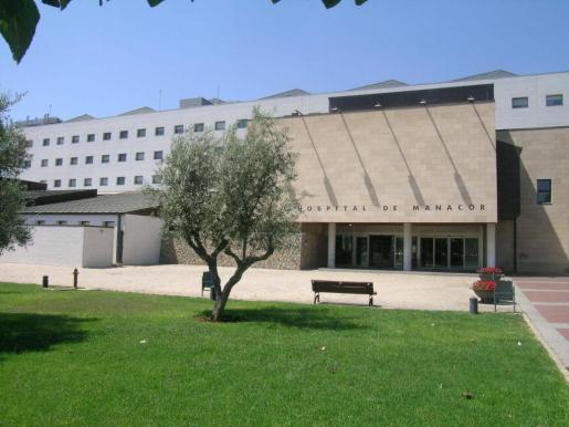 Fachada del hospital de Manacor.