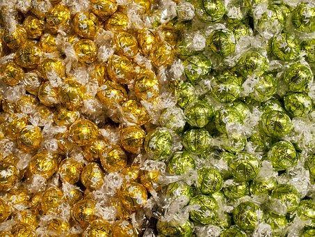 Bombones de la célebre marca suiza de chocolates Lindt & Sprüngli.