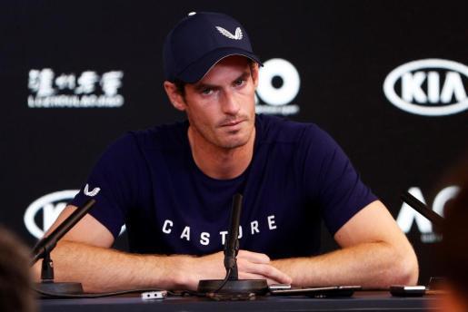 Andy Murray, con ojos llorosos, ofreció una rueda de prensa para explicar cómo se encuentra.