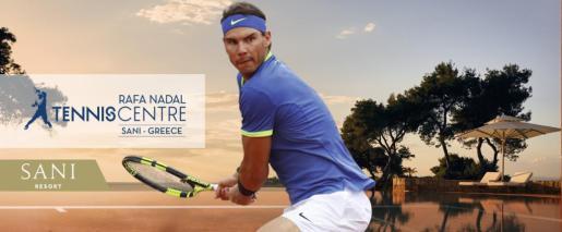 El nuevo centro del Rafa Nadal Tennis Centre se ubicará en un resort cercano a Tesalónica.