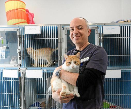 Fernando Ribas tuvo claro desde niño que se iba a dedicar a salvar la vida de los animales.