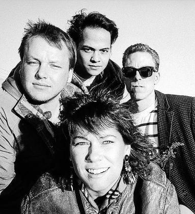 El grupo Pixies, en una imagen tomada hace 30 años.