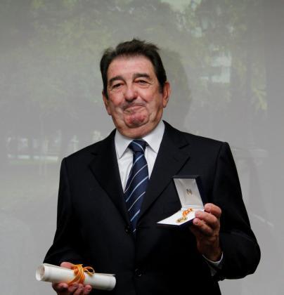 Juan Miguel Caldentey fue homenajeado con la medalla de oro de Fomento de Turismo.