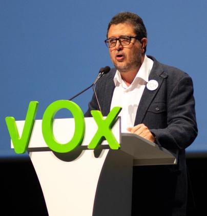 Francisco Serrano, de Vox.
