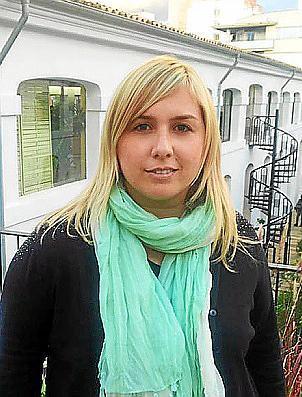 La candidata del PP de Inca Mar Nicolau.