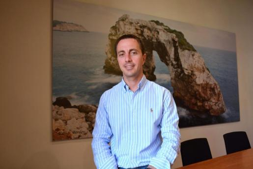 El candidato del PP a la presidencia del Consell de Mallorca, Llorenç Galmés.