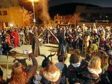 Sant Antoni en Sant Llorenç: Dimoniada en Son Carrió