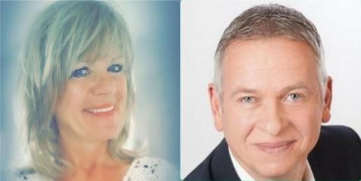 Imagen de la pareja Stefanie Petra y Udo Von Salzen.