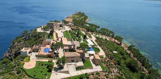 Vista aérea de la Fortalesa.