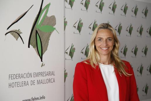 María Frontera, presidenta de la Federación Hotelera de Mallorca.
