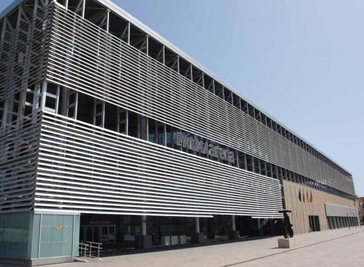 Imagen del Velòdrom Illes Balears, sede de la Conselleria de Cultura, Participació i Esports.