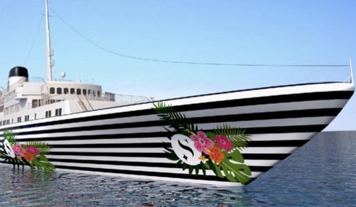 Imagen del 'Love Boat' que navegará a partir de agosto por aguas de Balears y Marbella.