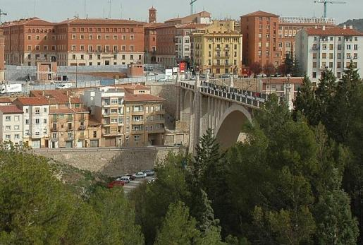 El hombre se ha suicidado en Teruel al arrojarse por el viaducto.