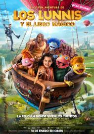 Cartel de la película 'La gran aventura de los Lunnis y el Libro Mágico'