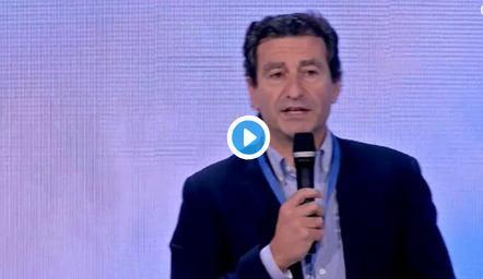 Gabriel Company durante su intervención en la convención nacional del PP.