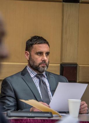 El hispano-estadounidense Pablo Ibar compareció este viernes ante el tribunal estatal de Florida, en Fort Lauderdale, Florida (EE.UU.).