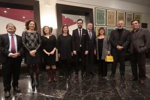 Las principales autoridades de Palma, Mallorca y Baleares no han faltado a la cita con la cultura en el Teatre Principal.