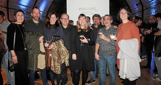 Francisca Niell, Xisco Bonnín, Pilar Rubí, Paco Medrano, Irene Llacer, Robert Escobar, Daniel Rebassa y Eva Cifre.