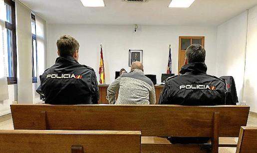 El acusado, este martes en el juicio celebrado en Palma.