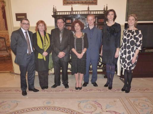 Cosme Bonet, Antonia Enseñat, Eduard Riudavets, Aina Rado, Joan Sbert, Bel Oliver.