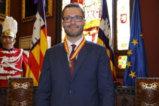 José Hila, exalcalde de Palma, se postula para la Alcaldía de nuevo por el PSIB.