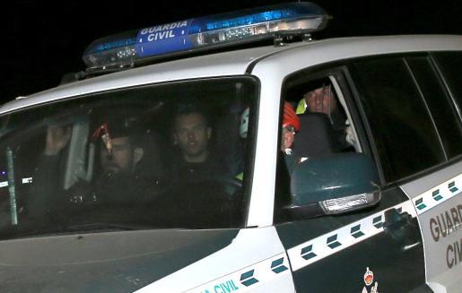 Miembros de la Guardia Civil, que han participado en el rescate.