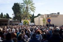 Cientos de personas acuden a dar su último adiós a Julen en Málaga
