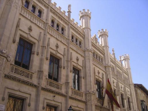 Fachada del Consell de Mallorca.