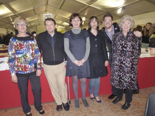 Joana Lluïsa Mascaró, Matias Garcias, Francina Armengol, Rosa Barceló, Jaume Carles Pons y Rosa María Colom.