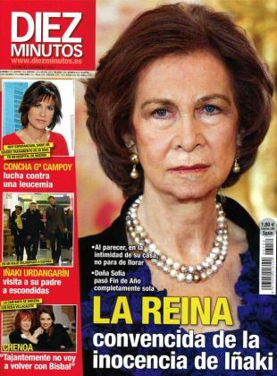La Reina Sofía no parece estar pasando por su mejor momento, según recoge la revista Diez Minutos.