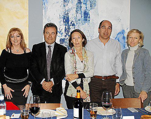 Beatriz García, Joan Gual, Annick Truche, Juan Miguel Juan y Florence Tirard.
