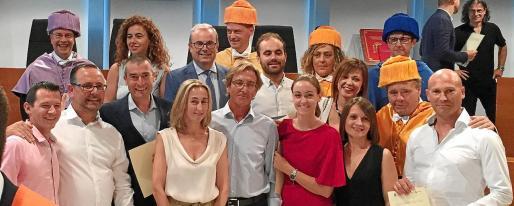 Entrega de títulos de la primera edición del Máster de Gestión Turística realizada en Eivissa el pasado mes de julio.