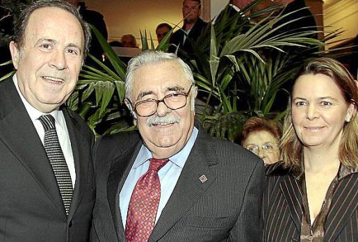 José María Rodríguez, Pere A. Serra y Maria Salom.