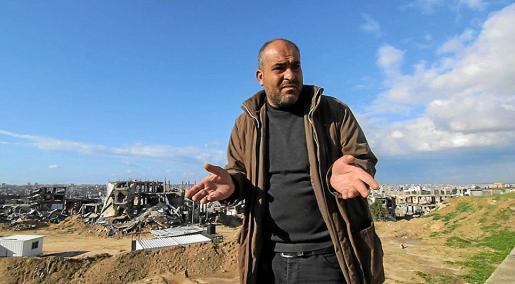 Fotograma del cortometraje documental 'Gaza', de Carles Bover, que ayer fue censurado en Madrid.