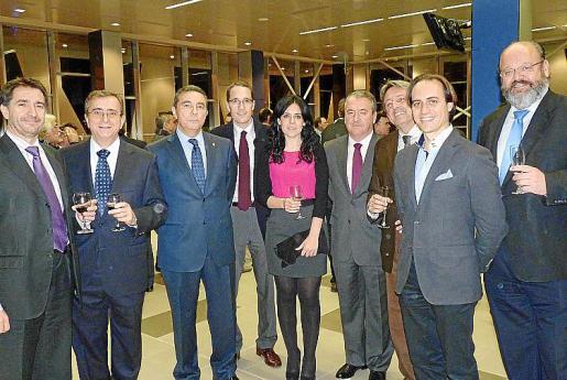 Xavi Bonet, Bartolomé Campaner, Basilio Sánchez-Rufo, Jorge Nasarre, Sandra Fernández, José María Urrutia, Antonio Cardona, Álvaro Gijón y Guillermo Navarro.