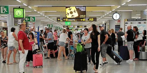 Las cifras de pasajeros en el aeropuerto de Palma han sido positivas durante los doce meses de 2018.