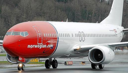 Norwegian inauguró su base en Son Sant Joan en junio de 2016.
