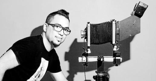 El fotógrafo valenciano afincado en Ibiza Salva Carbó.