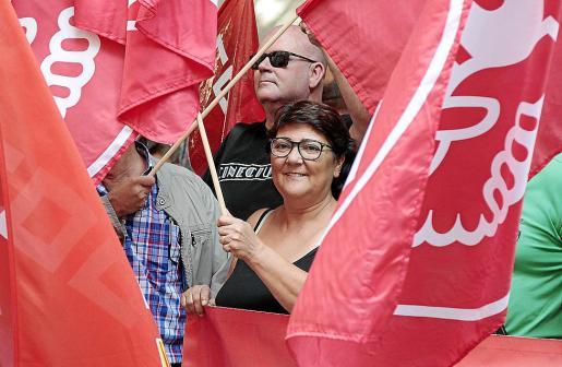 Los sindicatos están al frente de este manifiesto en contra de la «extrema derecha».