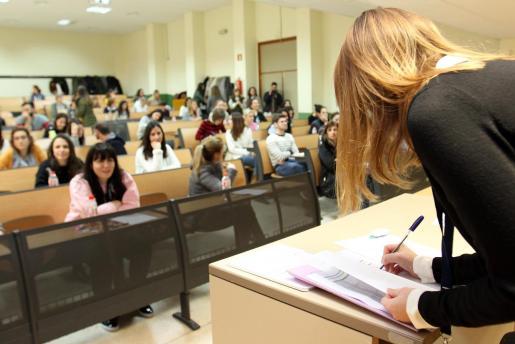 Las pruebas han tenido lugar este domingo en la UIB.
