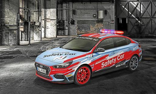 El modelo será el coche de seguridad oficial durante la temporada 2019 de WorldSBK