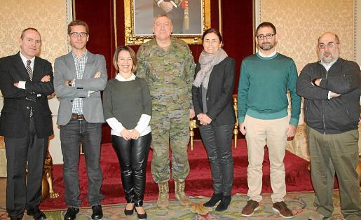 Ciro Krauthausen, Josep Pons, María Ferrer, Juan Cifuentes, Paula Serra, Enric Borrás y Germà Ventanyol.