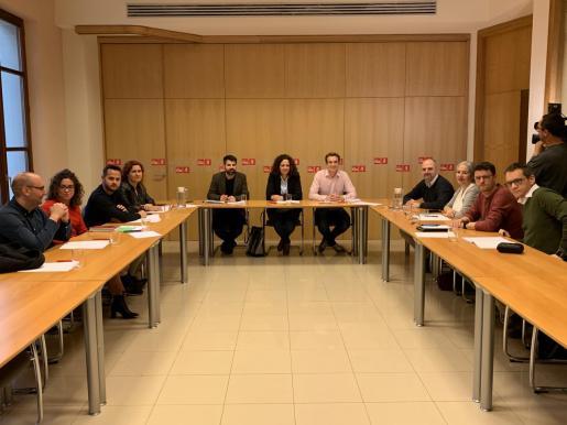 Reunión del PSIB.