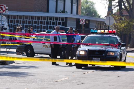 Imagen de archivo de vehículos policiales en Estados Unidos.