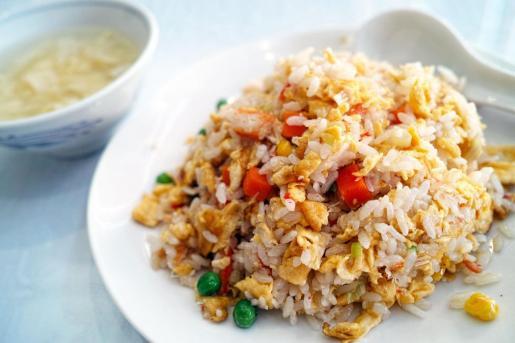 Imagen de archivo de un plato de arroz.