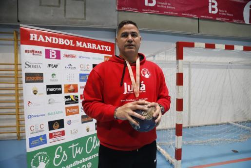 El nuevo entrenador del Handbol Marratxí, Rolando Uríos.